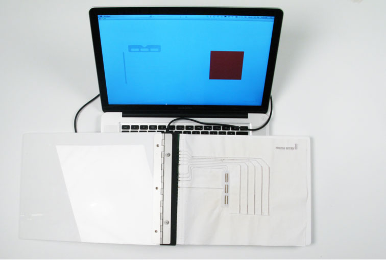 The Electronic Textile Interface Swatch Book