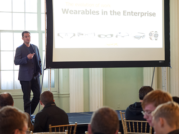Keynote Brian Ballard on Wearables in Enterprise
